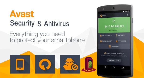 Ứng dụng bảo vệ thiết bị Android khỏi virus (Avast Mobile Security)
